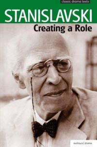 Stanislavski creating a role book cover